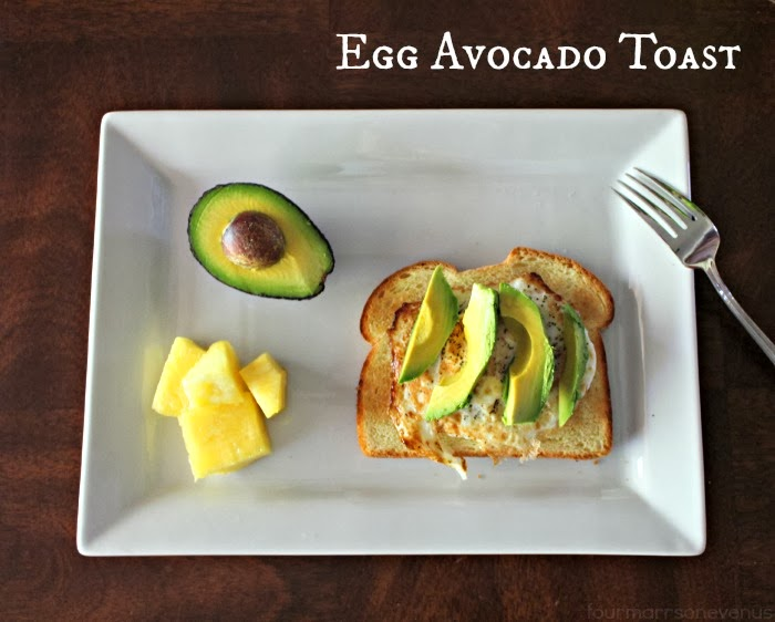 Egg Avocado Toast Recipe