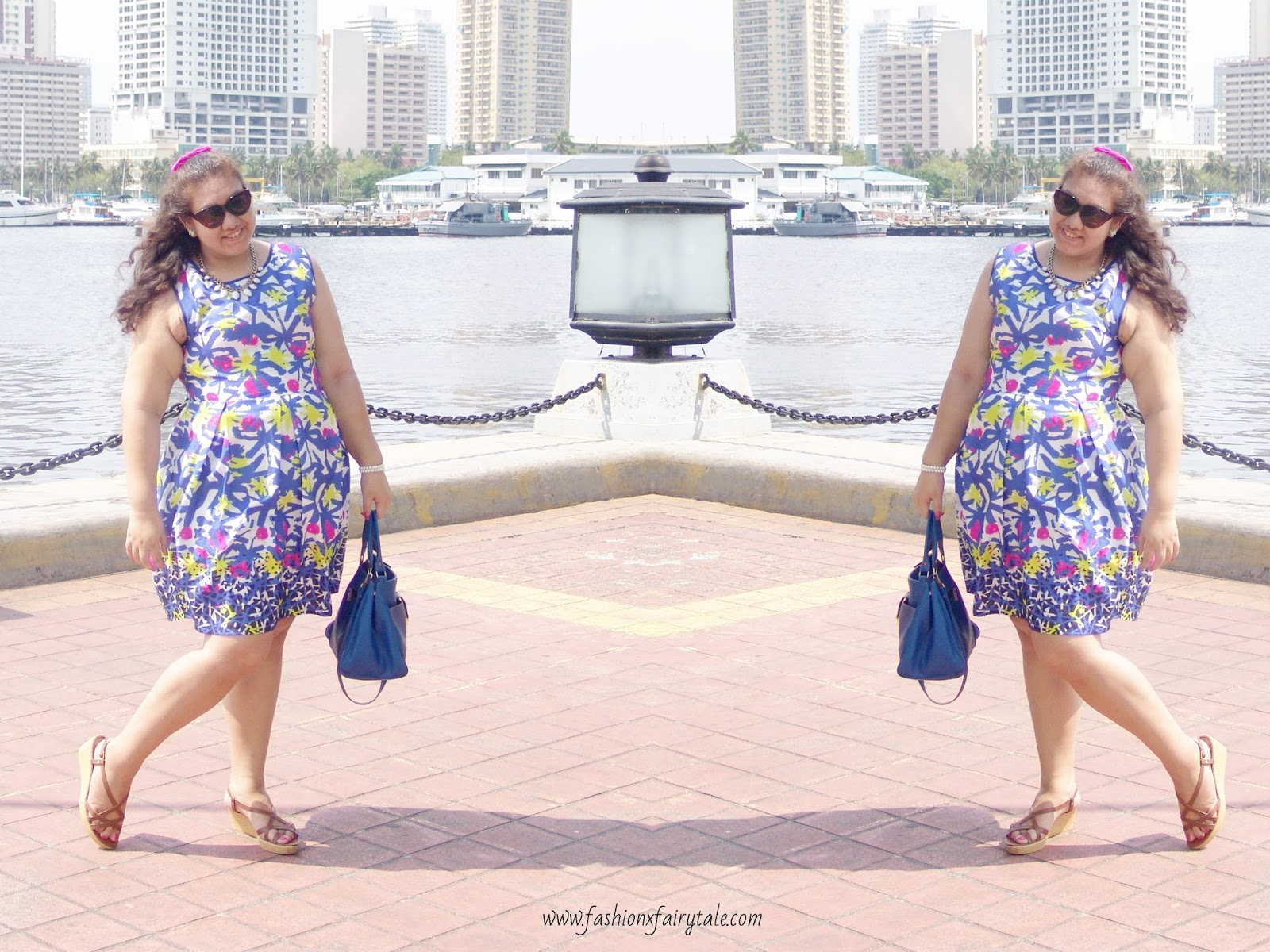 Abstract Summer Dress | What I Wore