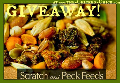 Scratch and Peck feeds GIVEAWAY at The Chicken Chick®