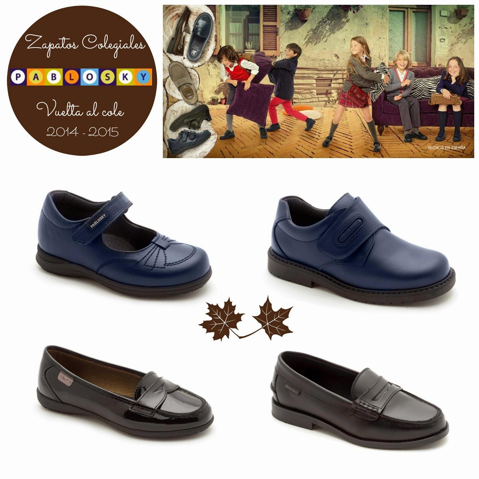 zapatos colegiales pablosky vuelta al cole blog niños mama de noa