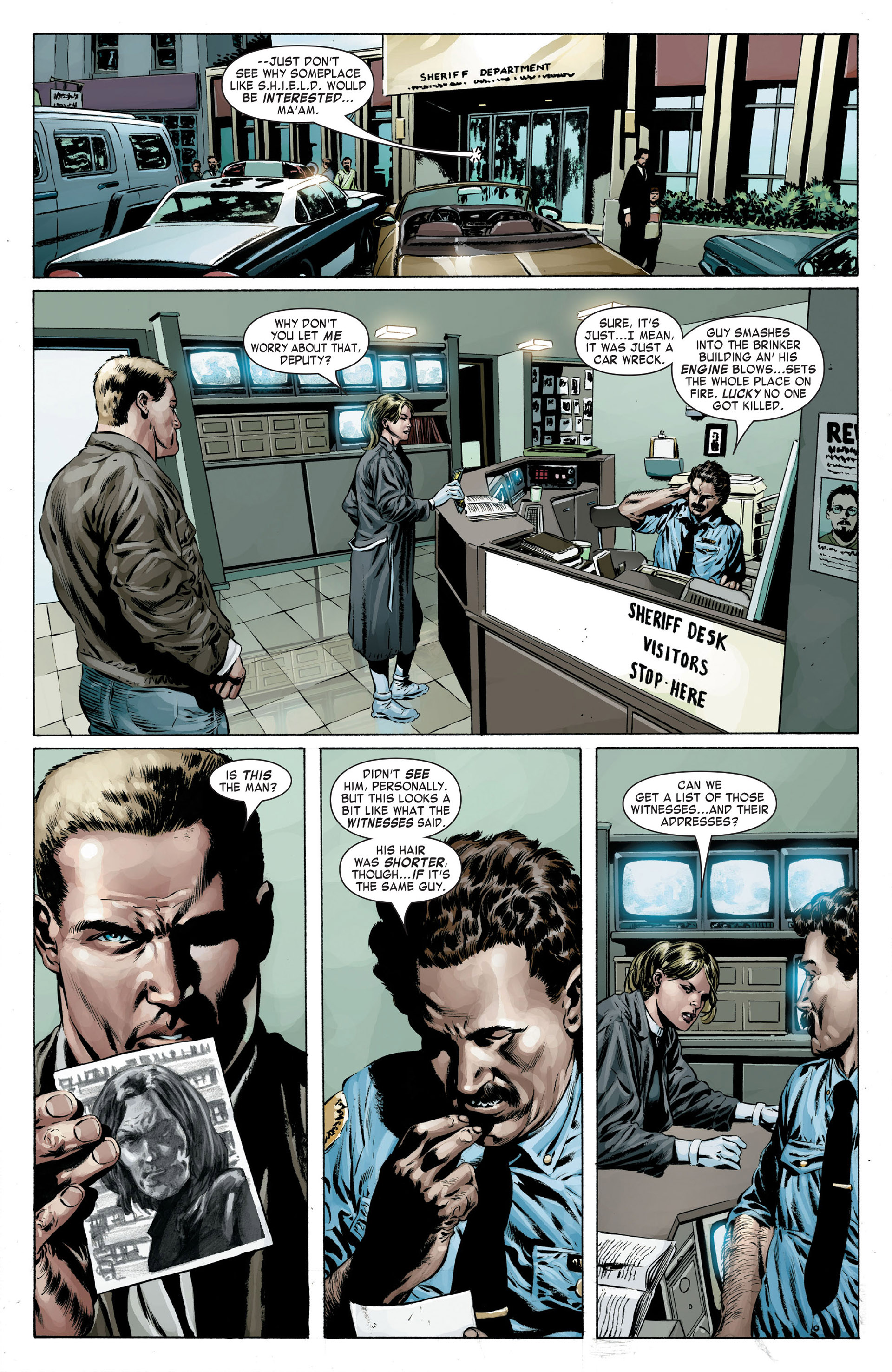Captain America (2005) Issue #16 #16 - English 9