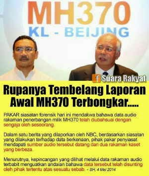 MH370 | Audio | Info | Shaklee | Sungai Buloh | Setiawangsa