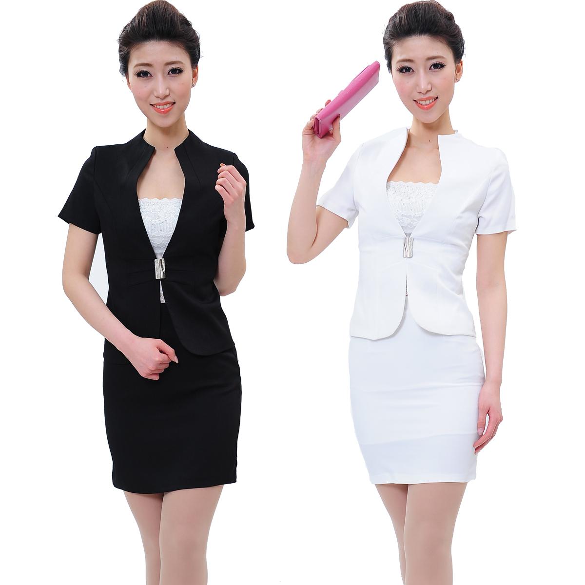 đồng phục công sở nữ theo phong cách Hàn Quốc