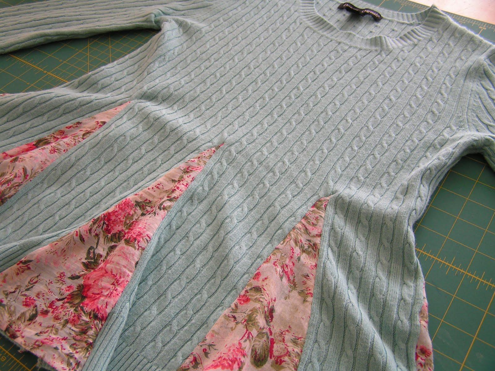 Из старых свитеров своими руками фото