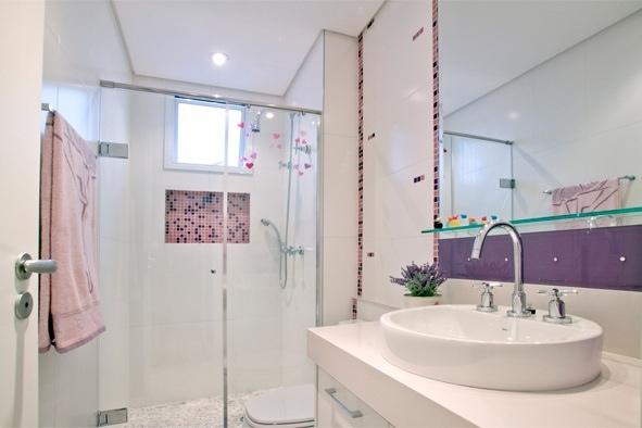 Qual A Altura Do Espelho No Banheiro : Construindo minha casa clean nichos na decora??o