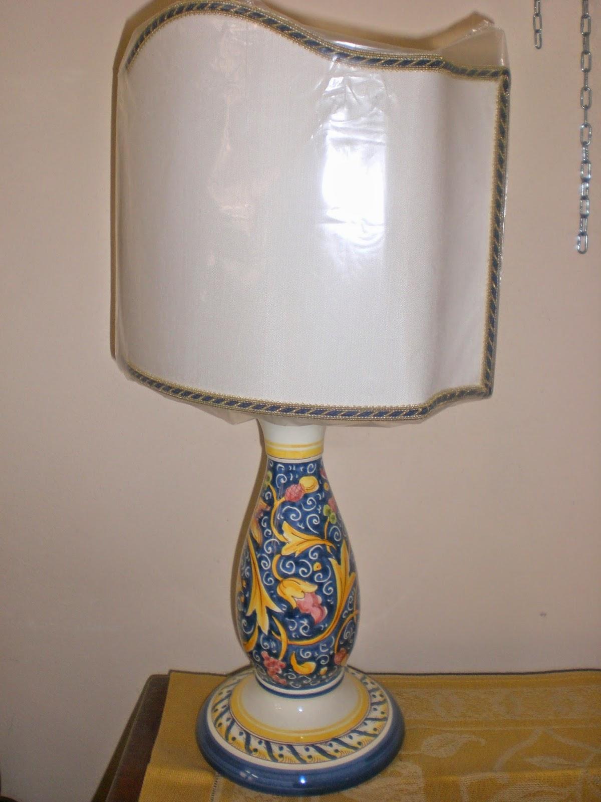 ceramica e dintorni lampade e abat jour