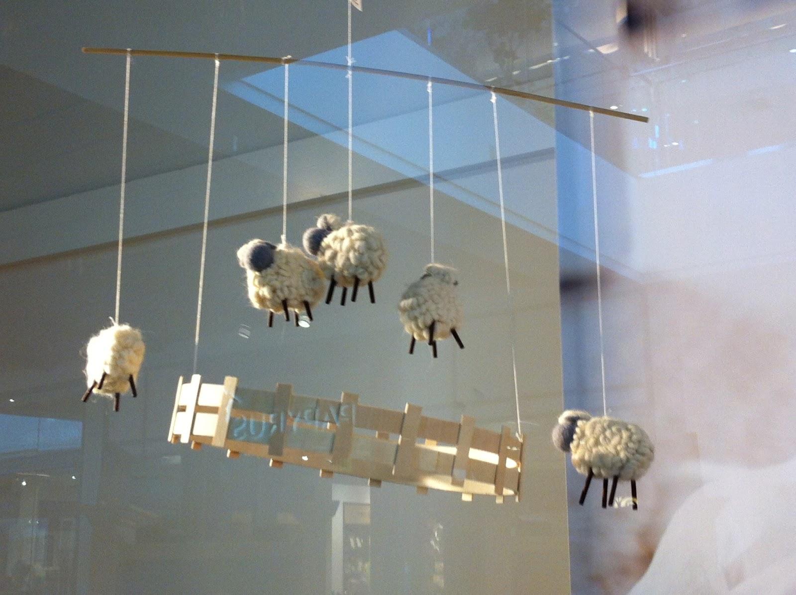 Amigurumi Sheep Baby Mobile : Life on laffer: fluffy little sheep