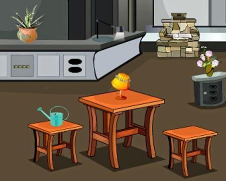 Juegos de Escape Escape from Flat Livingroom