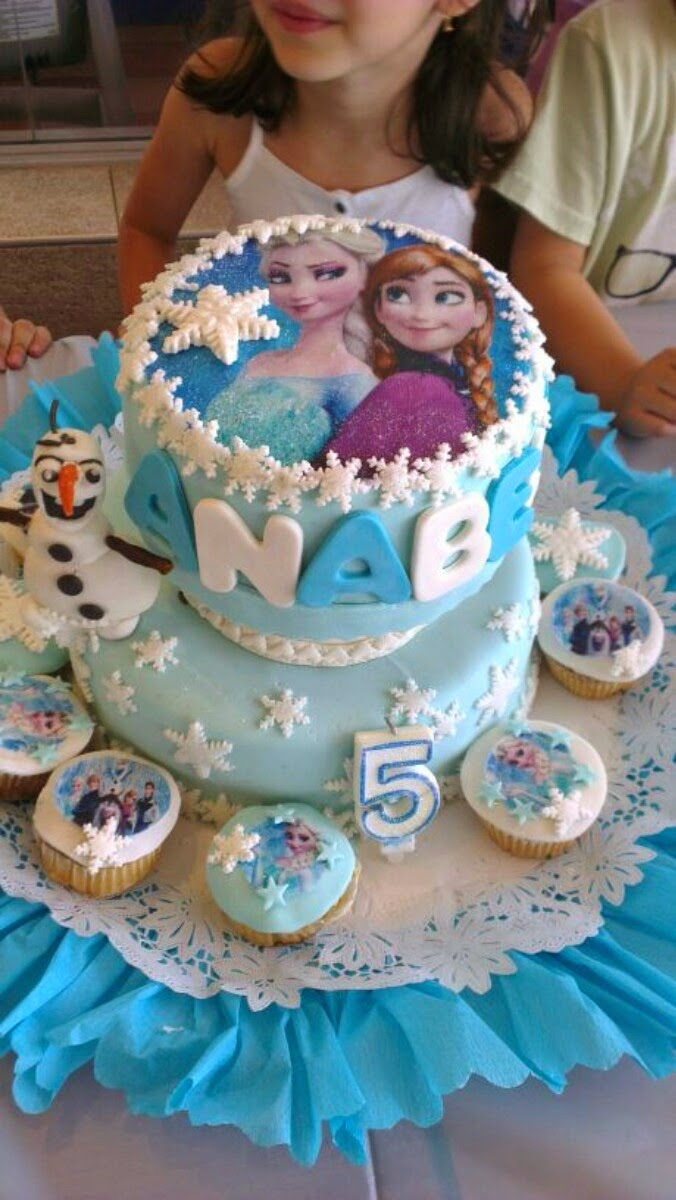 Tendencias en Decoración de Tortas: Tortas con Decoracion de Frozen
