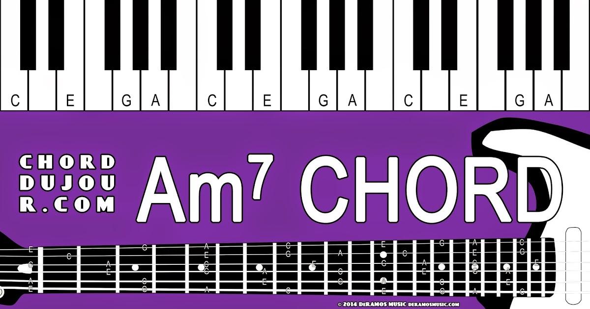 Chord du Jour: Dictionary: Am7 Chord