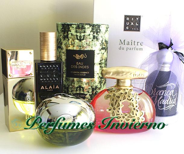 perfumes novedades invierno navidad