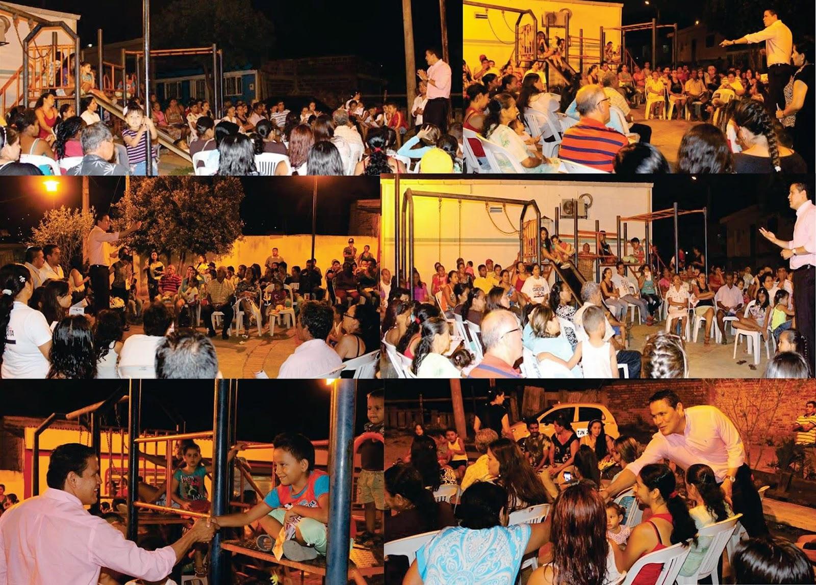 En el barrio Palmeras familias enteras creen y apoyan a Jorge Acevedo: Todos por Cúcuta