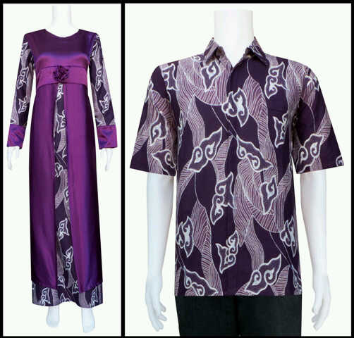 Batik Sarimbit Pasangan Safari Model Kontemporer (Habis)
