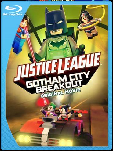 Liga de la Justicia LEGO Escape en Ciudad Gotica BrRip 720p Latino