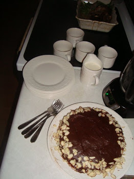Dessert - Double Chocolate with Almond Cake