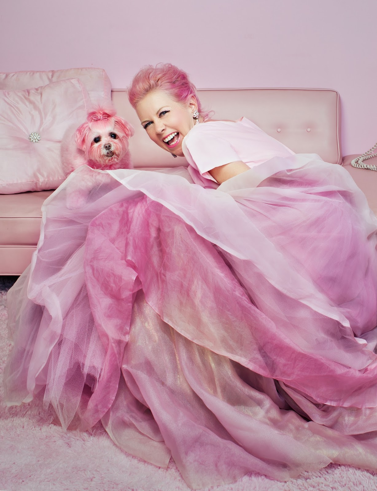 The Pink Lady of Hollywood: PINKFECTION!