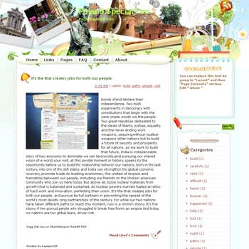 Poland Special Fun Blogger Template. free download template blogspot