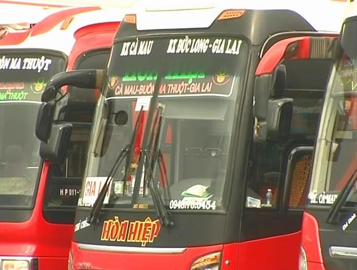 Nâng cao chất lượng tuyến xe liên tỉnh Cà Mau - Gia Lai
