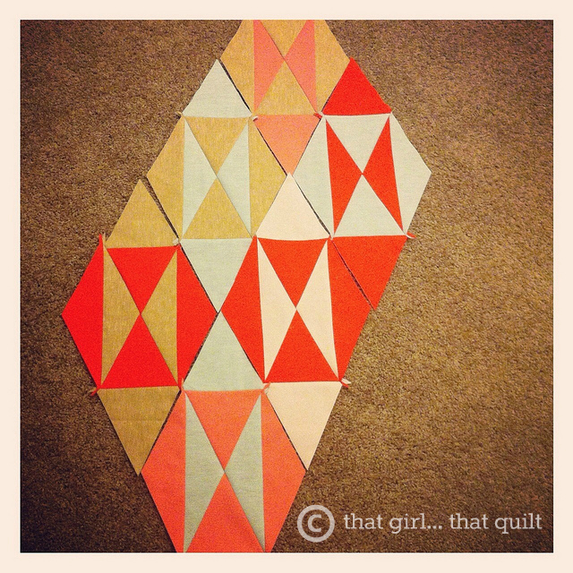 Quilting with linen