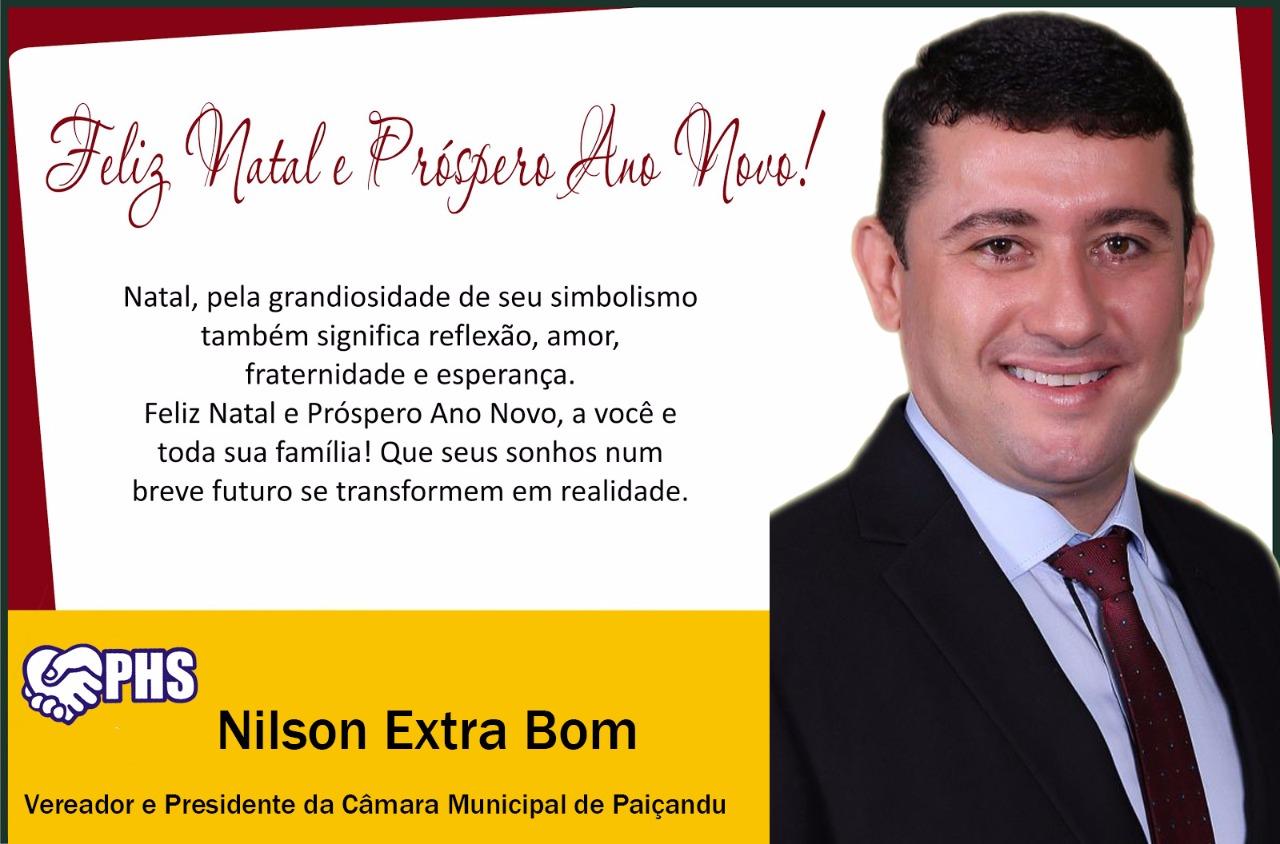 VEREADOR NILSON EXTRA BOM
