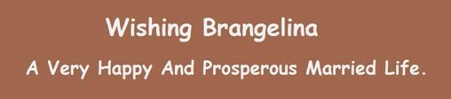 Happy Married Life Brangelina
