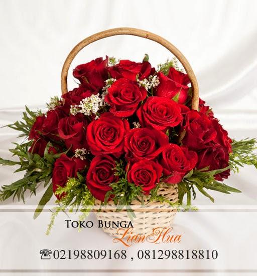 toko bunga di bintaro, bunga mawar merah di tangerang selatan
