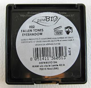 PuroBIO - Fallen Tones palette descrizione