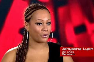 Janysshha Lyon la voz 2013
