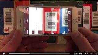 Dez livros catalogados em dez segundos com o novo aplicativo iPhone