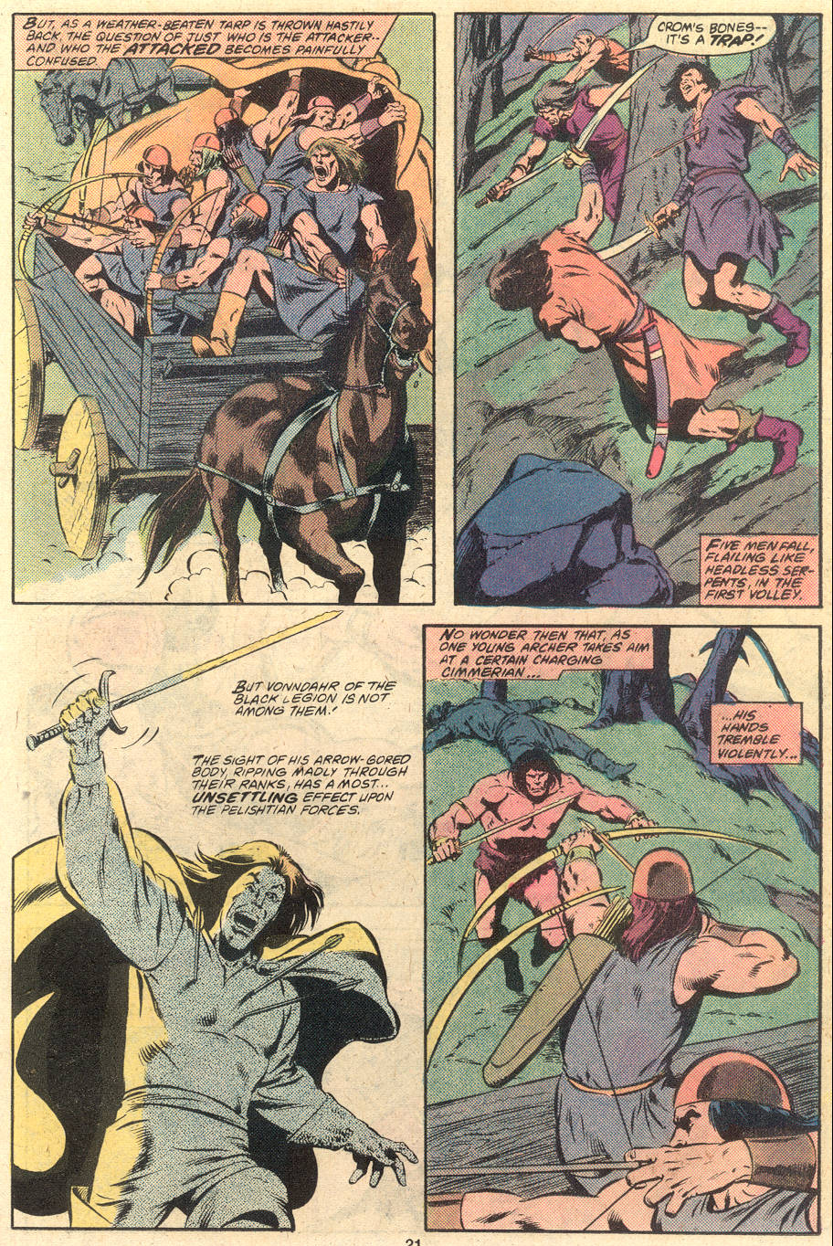 Conan the Barbarian (1970) Issue #120 #132 - English 17
