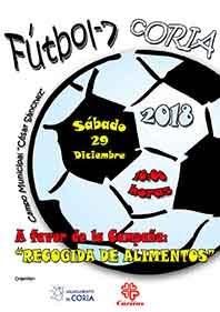"""VII CONVIVENCIA FÚTBOL-7 """"RECOGIDA DE ALIMENTOS"""""""