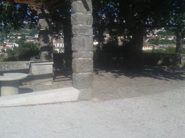 Miradouro sobre São Pedro do Sul