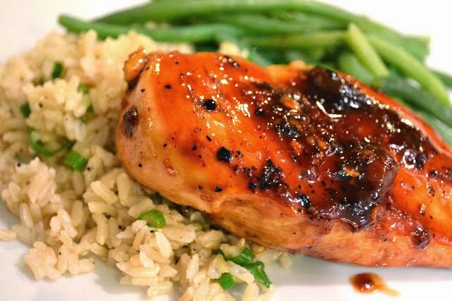 Рецепт куриная грудка с рисом