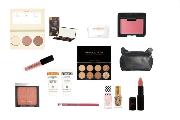 eid gift guide ladies beauty sleek barry m makeup revolution