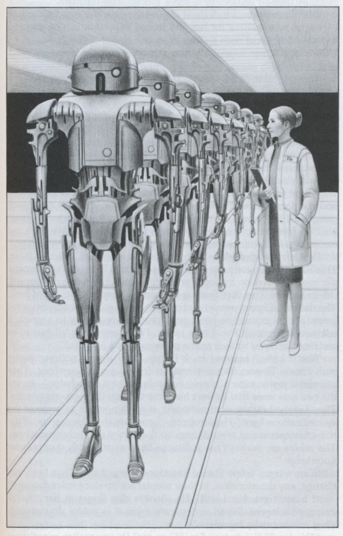 the origin of robots and their appearance in science fiction Robot: robot, any automatically operated machine that replaces human effort, though it may not resemble human beings in appearance or perform functions in a humanlike manner by extension, robotics is the engineering discipline dealing with the design, construction, and operation of robots.