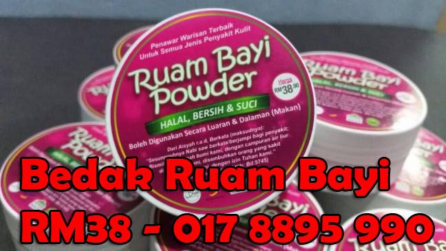 Bedak Ruam Bayi - 017 8895 990