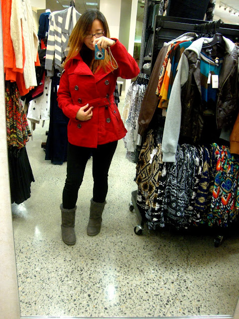 Rue 21 Red Jacket