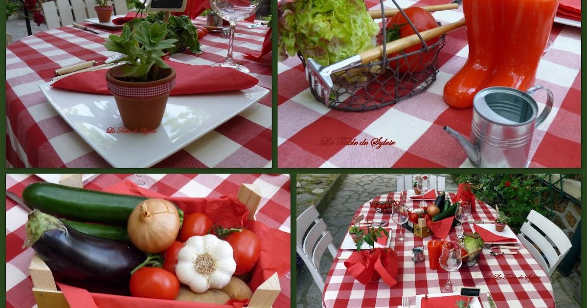 La table de sylvie pique nique au jardin for Au jardin de sylvie