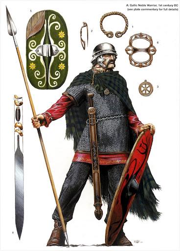 La bibliothèque historique Gallic+noble+warrior,+1st+century+BC