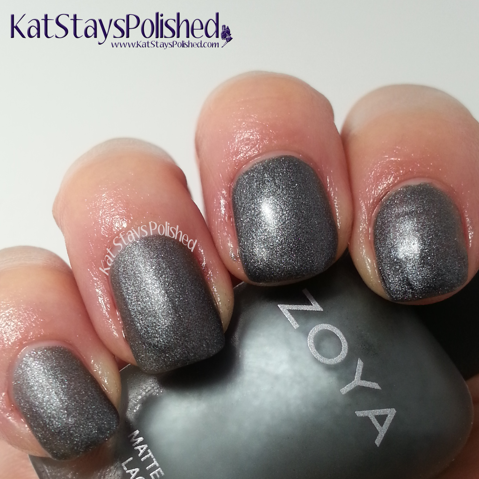 Zoya Matte Velvet - Loredana | Kat Stays Polished