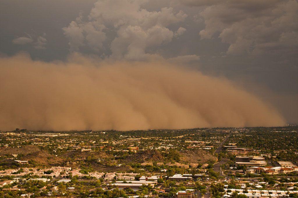 Cool Funpedia Impressive Sand Storm