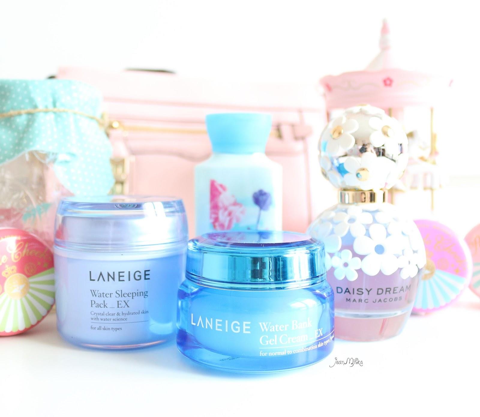 laneige, water bank, gel cream, oily skin, laneige water bank, skin care, review, moisturizer
