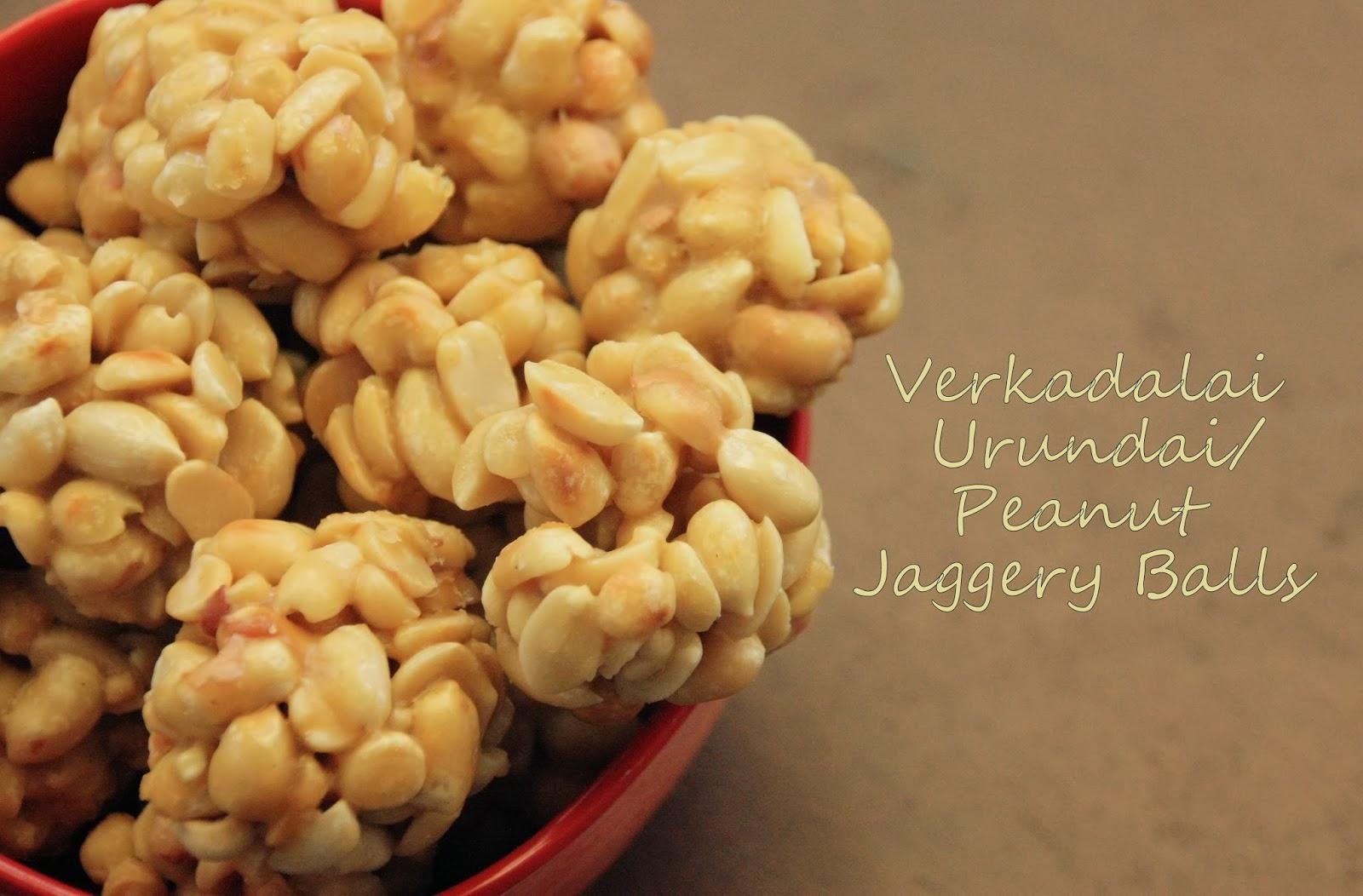 Sugar Amp Spice Groundnut Jaggery Balls Verkadalai Urundai