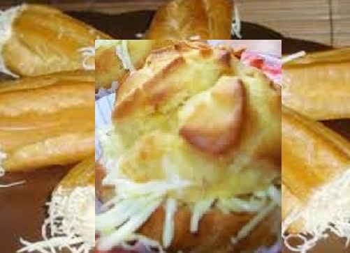 gambar membuat kue sus gulung vla keju