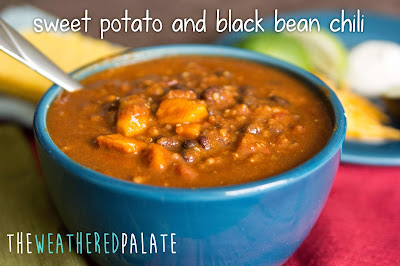 http://www.theweatheredpalate.com/2014/11/sweet-potato-and-black-bean-chili.html