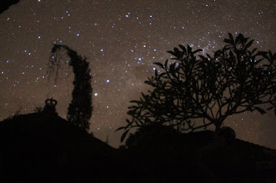 stargazing on nyepi