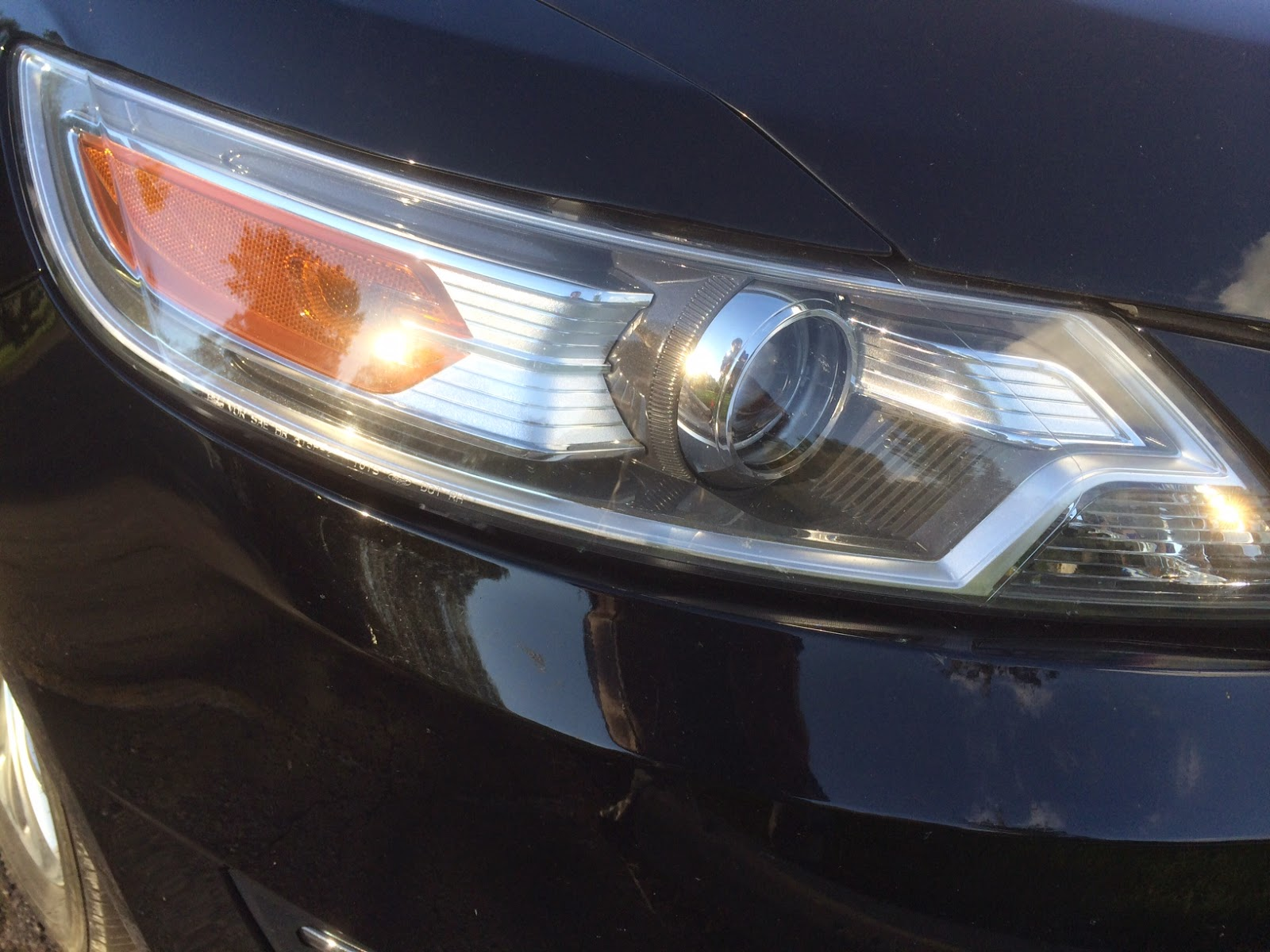 Are On Your Headlights : Michigan auto accident do your new projector type