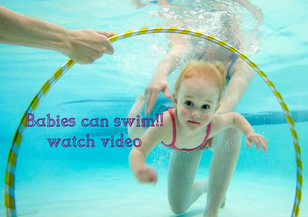 Did you know baby can swim yes they can watch video live it healthy for Can babies swim in saltwater pools