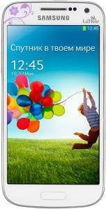 Мобильный телефон Samsung GT-I9190 Galaxy S4 mini La Fleur White миниатюрная модель с расширенным функционалом