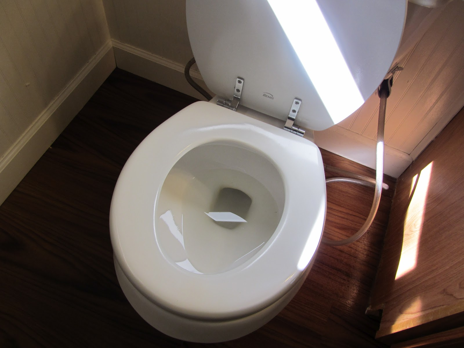 the simple life ain\'t easy: Removing iron stains from a toilet, the ...